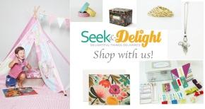 Seek & Delight Online Shop www.seekanddelight.co.za