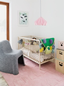 Quirky and unique, perfect for a baby's room or playroom.