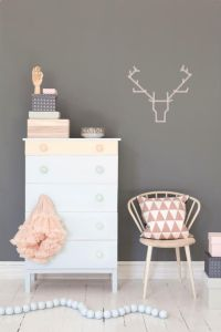 Love this washi tape reindeer head. Perfect for Christmas!